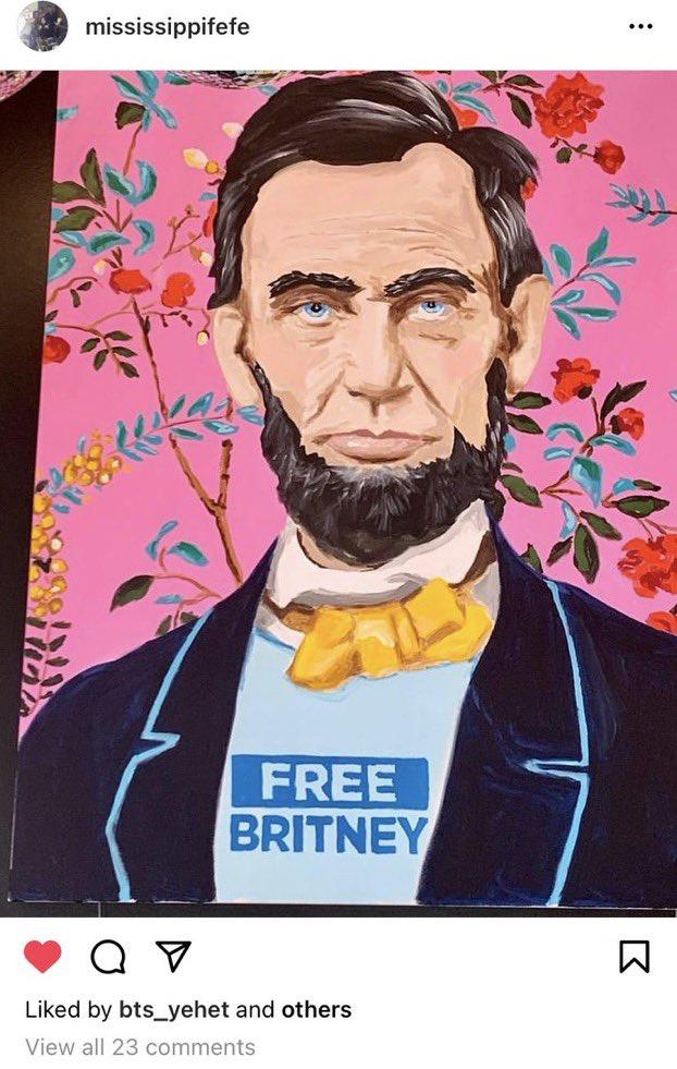 Felicia Culotta choca interweb ao postar foto em apoio ao #FreeBritney e membro Diana entra em prantos